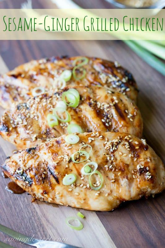 Sesame-Ginger Grilled Chicken PIN