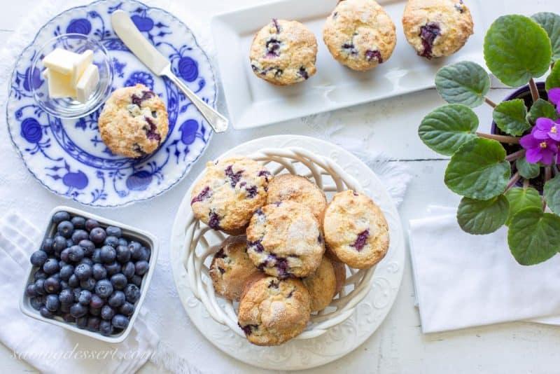 Blueberry Muffins-2
