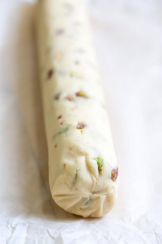 Pistachio Shortbread Cookies-1