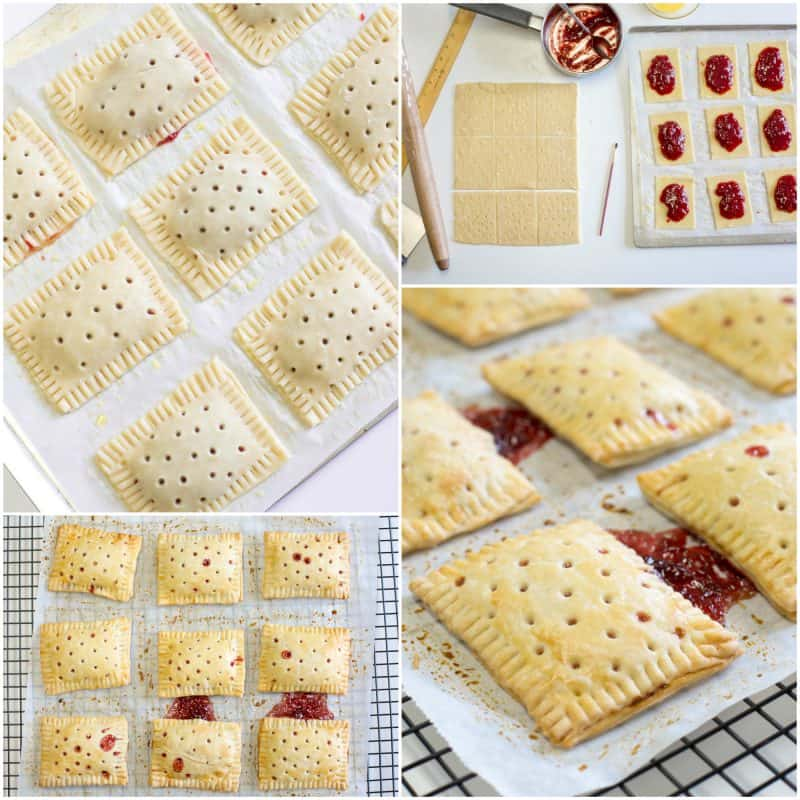 Homemade Strawberry PopTarts - Saving Room for Dessert