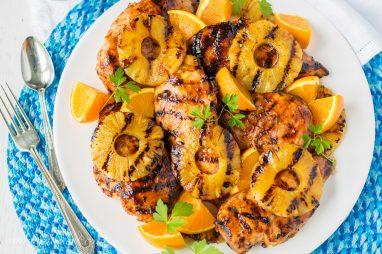 Orange Barbecue Grilled Chicken-1
