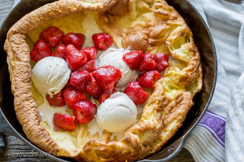Strawberry Dutch Baby-6