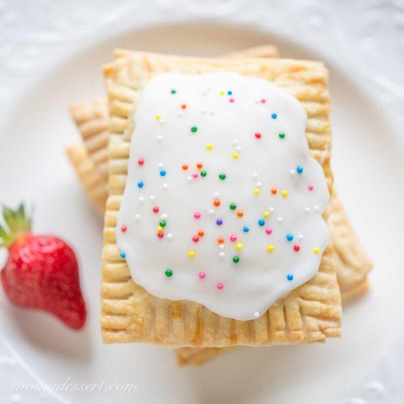 Homemade Strawberry PopTarts - Saving Room for Dessert