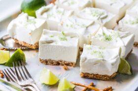 Creamy Margarita Pretzel Bars-2