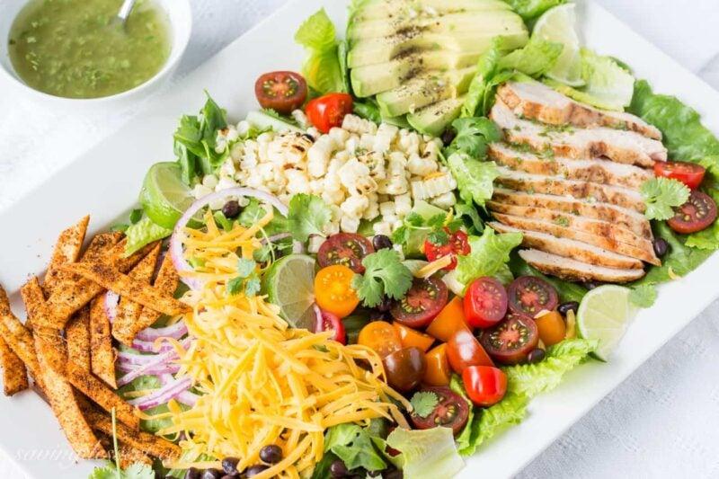 Grilled Chicken Taco Salad-6