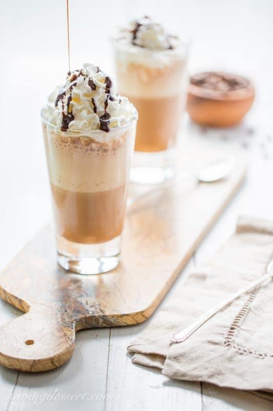 Homemade Mocha Frappuccino