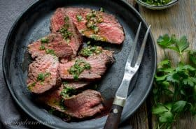 Tri-Tip Roast with Chimichurri