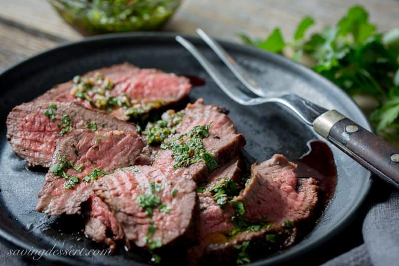 Tri-Tip Roast with Chimichurri Sauce