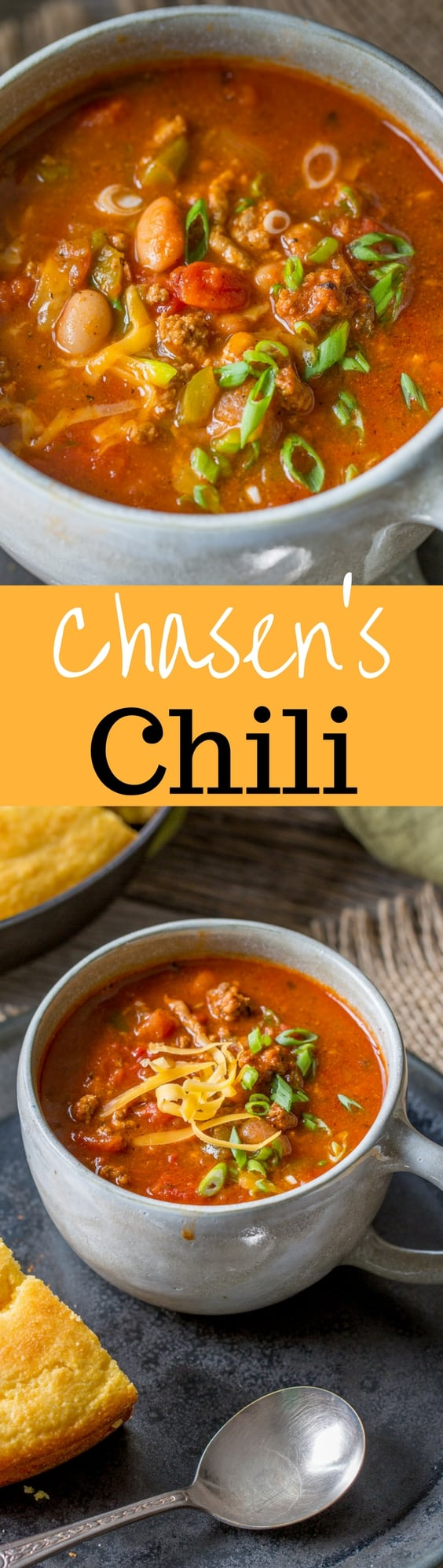Chasen's Chili - adapted from the famous Chasen's Hollywood restaurant recipe which was a favorite with actors including Elizabeth Taylor and Richard Burton | www.savingdessert.com