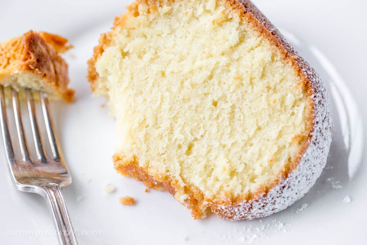 Perfect Every Time - Almond Pound Cake - Saving Room for Dessert