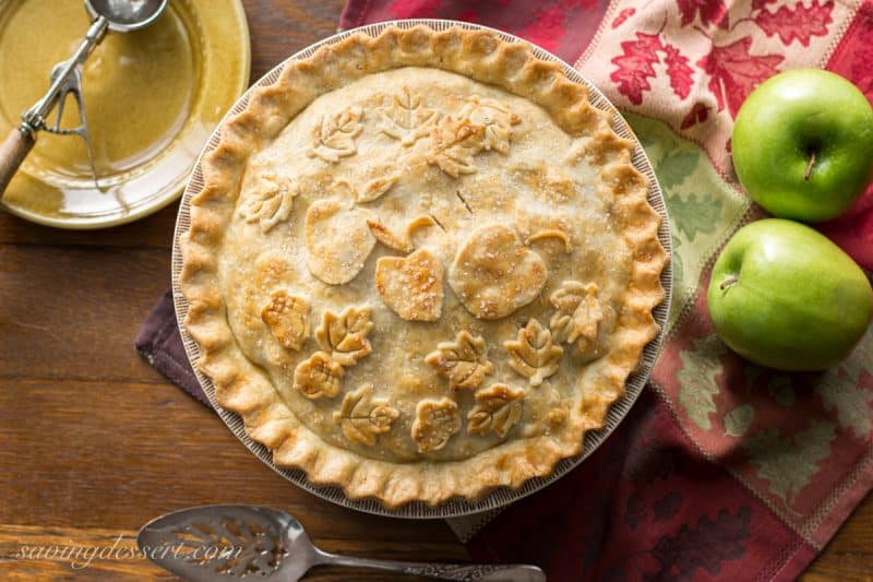 Classic apple pie recipe saving room for dessert classic double crust apple pie recipe the filling is made with tart crisp apples ccuart Choice Image