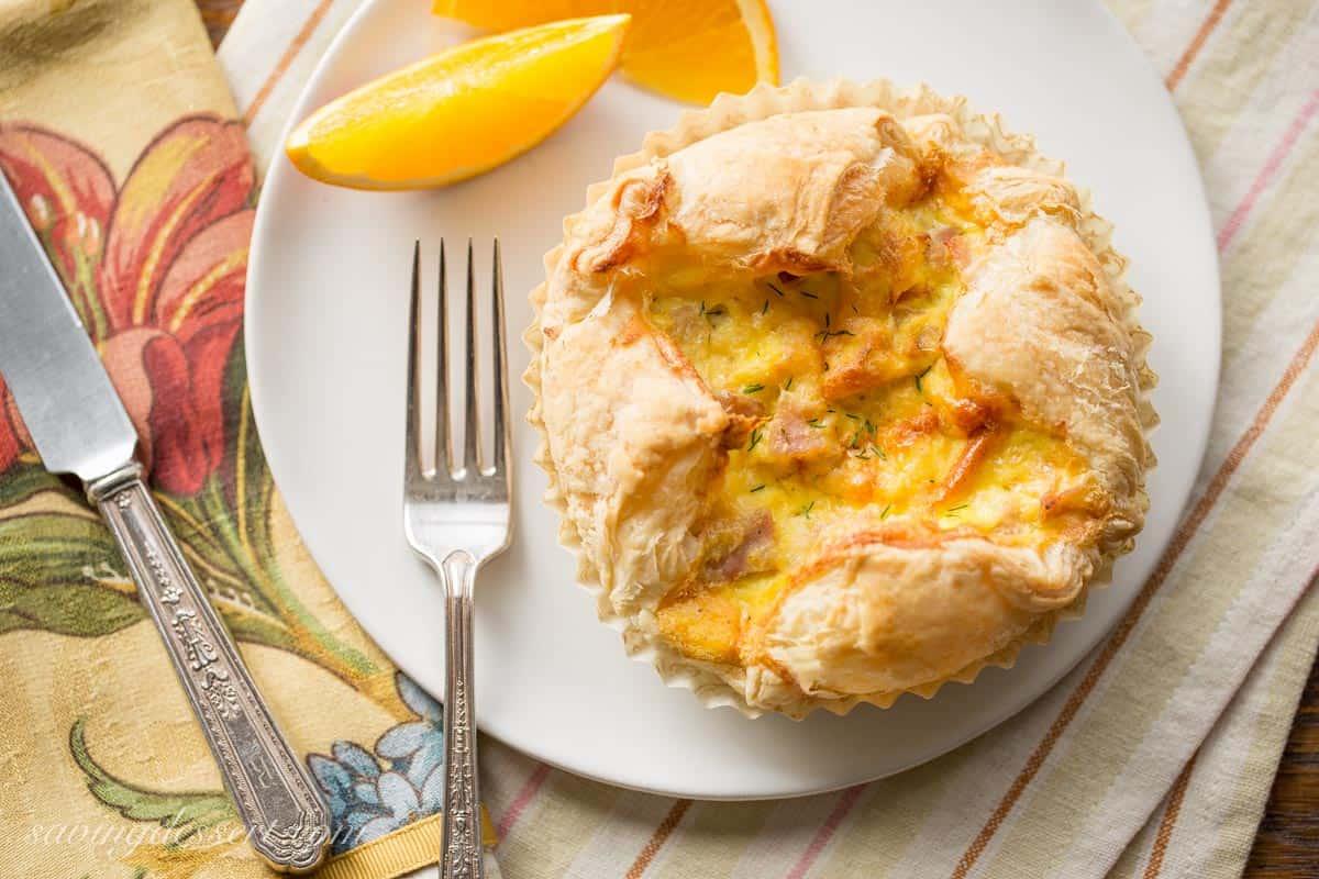 Ham & Cheese Breakfast Soufflé - Saving Room for Dessert