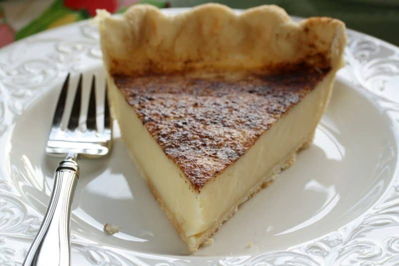 Hoosier Sugar Cream Pie - a heritage rich pie that has lasted through the ages. Creamy, quick, easy and delicious - www.savingdessert.com