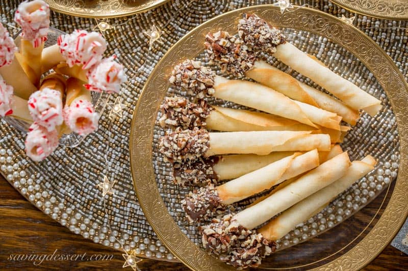 Tuile Cigar Cookies Pirouettes Saving Room For Dessert