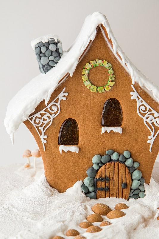 A Fairy Gingerbread House