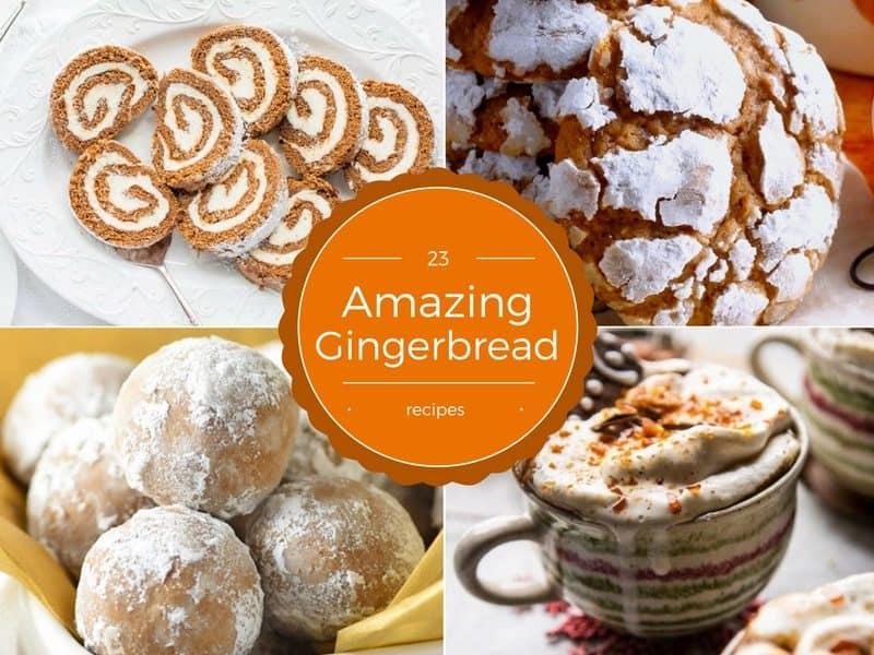 23 Amazing Gingerbread Recipes | www.savingdessert.com