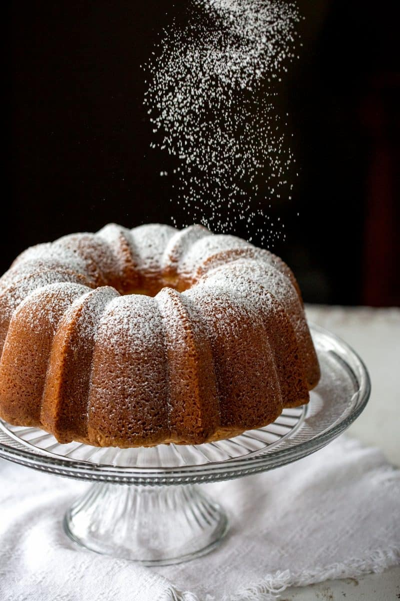 Perfect Every Time - Almond Pound Cake - tender and buttery, this pound cake is always a winner. Great toasted, served plain, with ice cream, layered in a trifle or as a layer in an icebox cake. This is the most versatile cake I've ever made. www.savingdessert.com