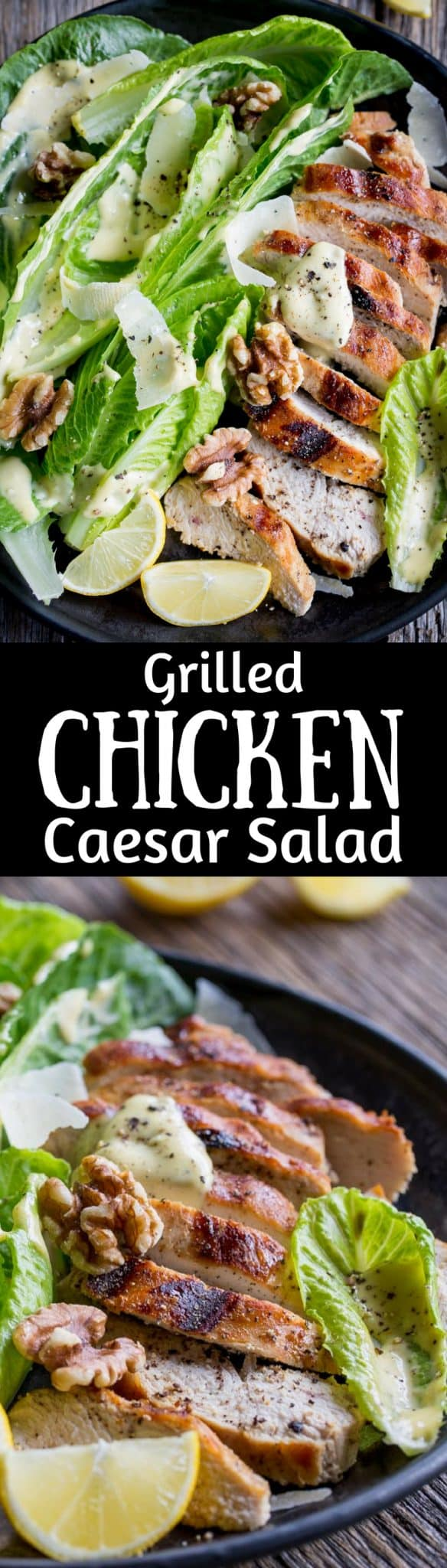 Grilled Chicken Caesar Salad Saving Room For Dessert