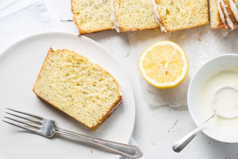 Lemon Poppy Seed Bread - Saving Room for Dessert
