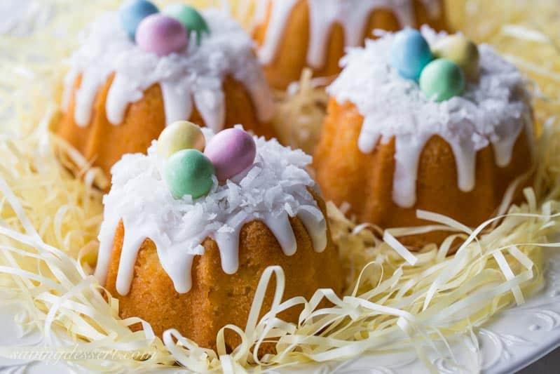 Mini Coconut Pound Cakes Saving Room For Dessert