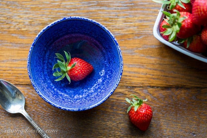 Easy Strawberry Sorbet