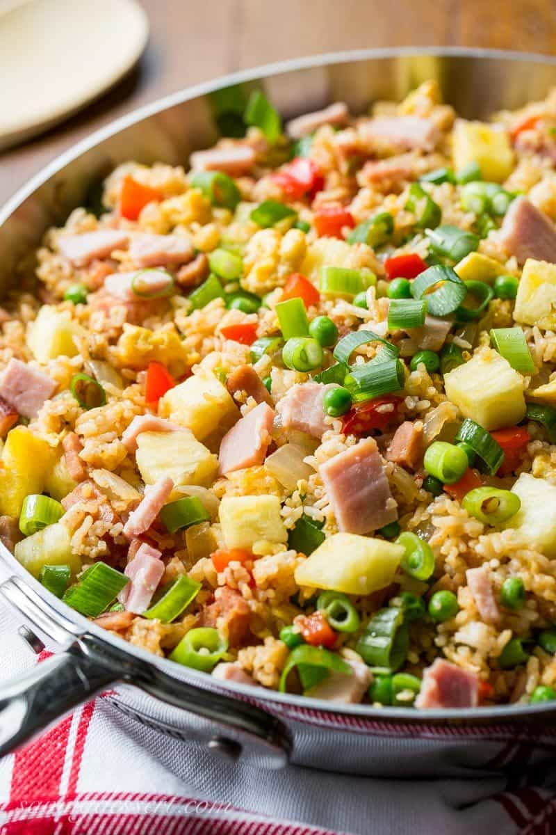 Hawaiian fried rice saving room for dessert hawaiian fried rice ccuart Images
