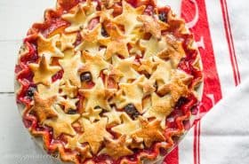 Nectarine Blueberry Pie Recipe