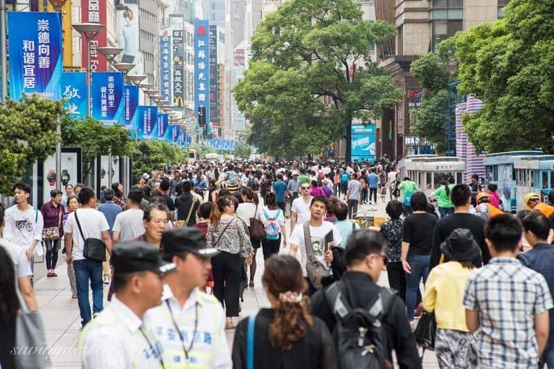 Nanjing Road, Shanghai, China www.savingdessert.com