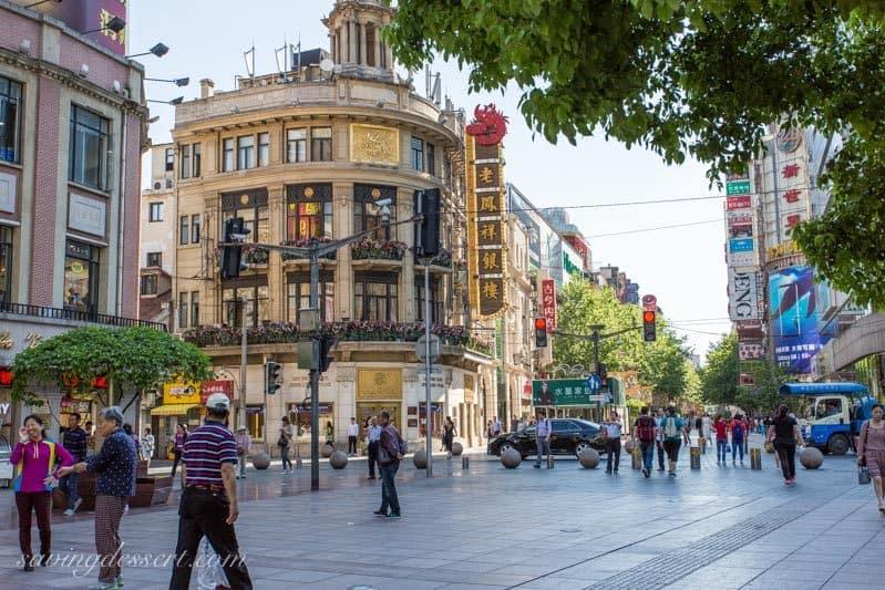 Nanjing Road Shanghai, China www.savingdessert.com