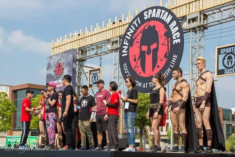 Spartan Race - Shanghai China www.savingdessert.com
