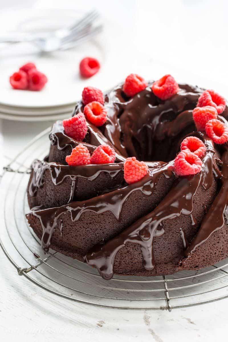 Chocolate Fudge Bundt Cake From Scratch