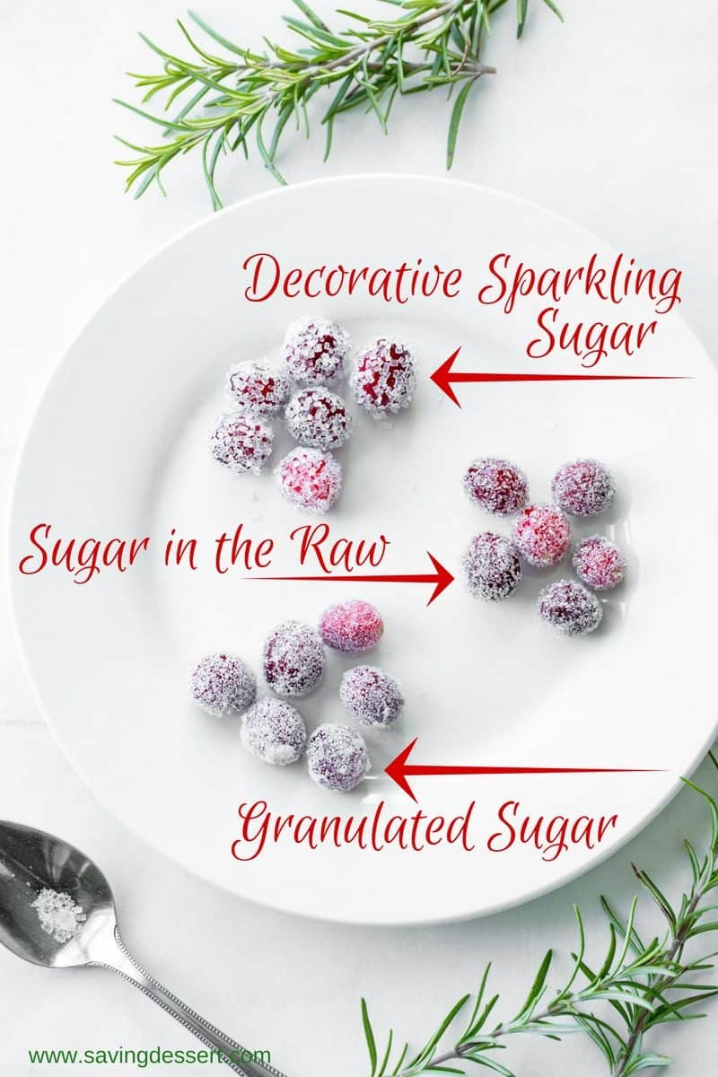 How to make sugared cranberries for the holidays