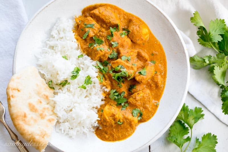 Indian Butter Chicken Recipe Saving Room For Dessert