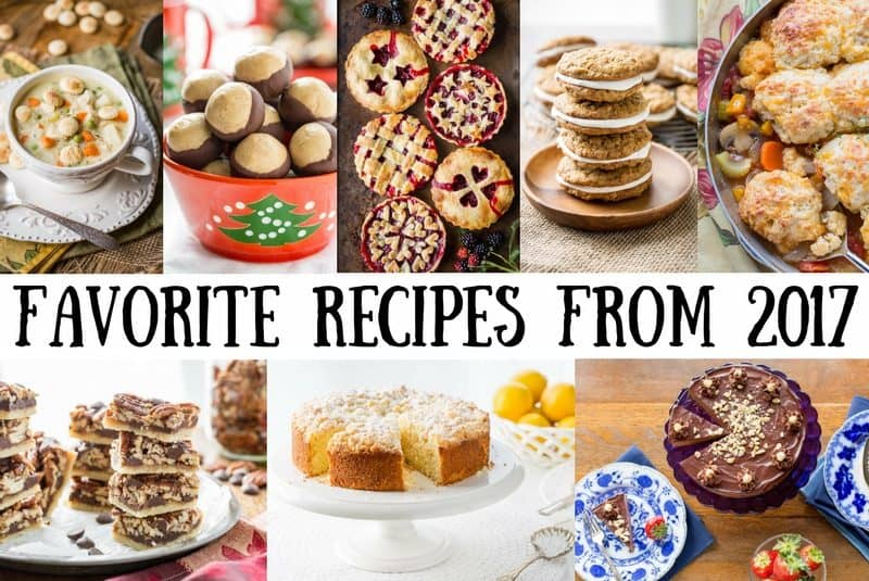 17 Favorite Recipes from 2017 - savingdessert.com