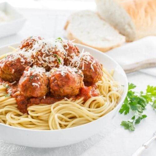 Italian Meatball Recipe Saving Room For Dessert