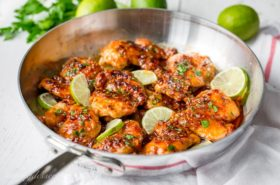 Spicy Honey Lime Chicken Thigh Recipe