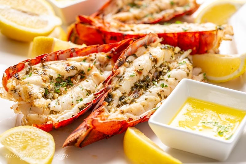 Image result for Grilled Lobster Tail Recipe