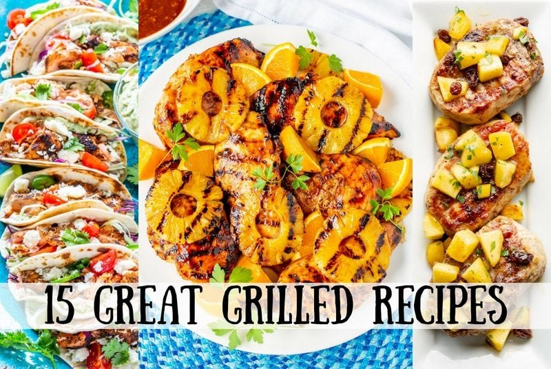 You can never really have enough Great Grilled Recipes! Here are some of our favorites for you to try this summer. From chicken and fish, to pork, beef and even vegetables, we've got you covered!