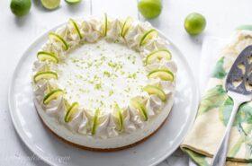 Key Lime Icebox Cheesecake