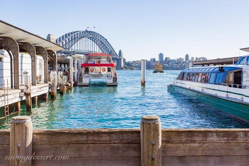 Circular Quay Wharf Sydney Australia