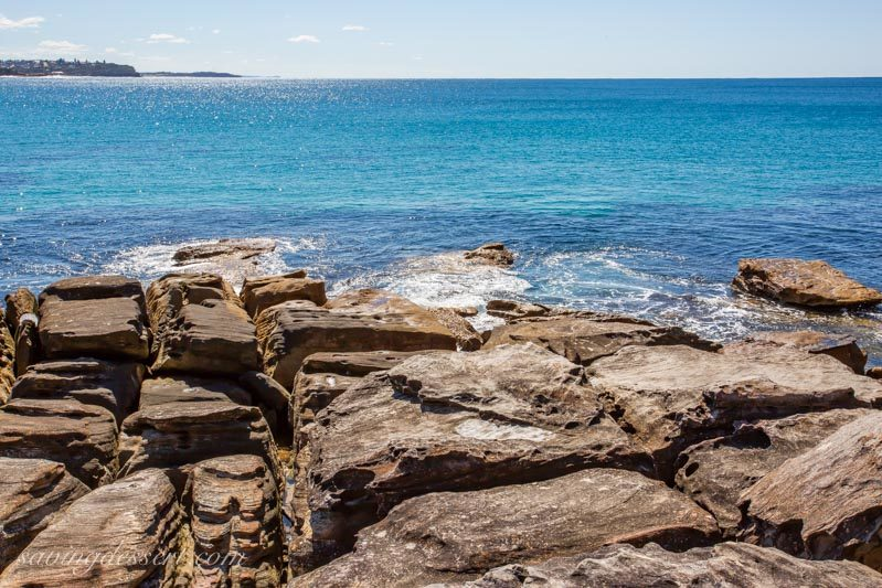 Pacific Ocean view from Manly, Sydney Australia