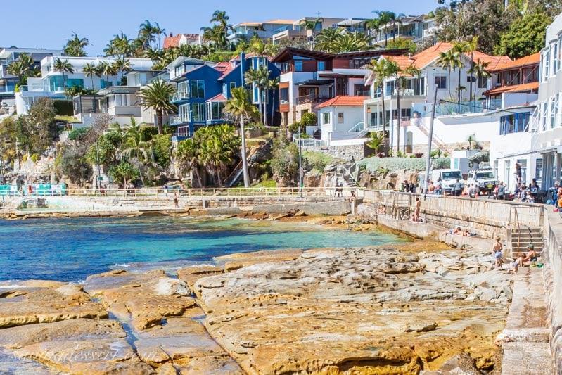Fairy Bower coastal pool, Manly near Sydney Australia
