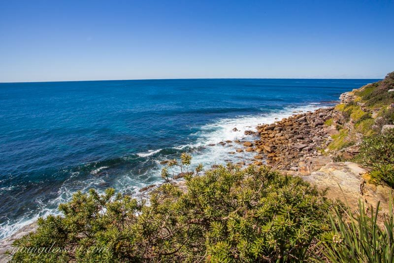 The east coast of Australia