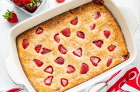 Easy Strawberry Buckle