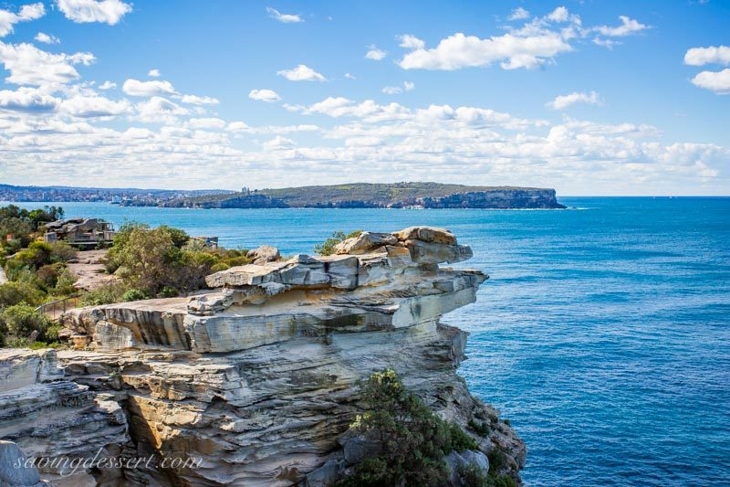 The view from South Head, Watsons Bay to Manly and the Pacific Ocean