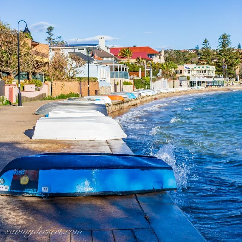 little boats at Watsons Bay harbour