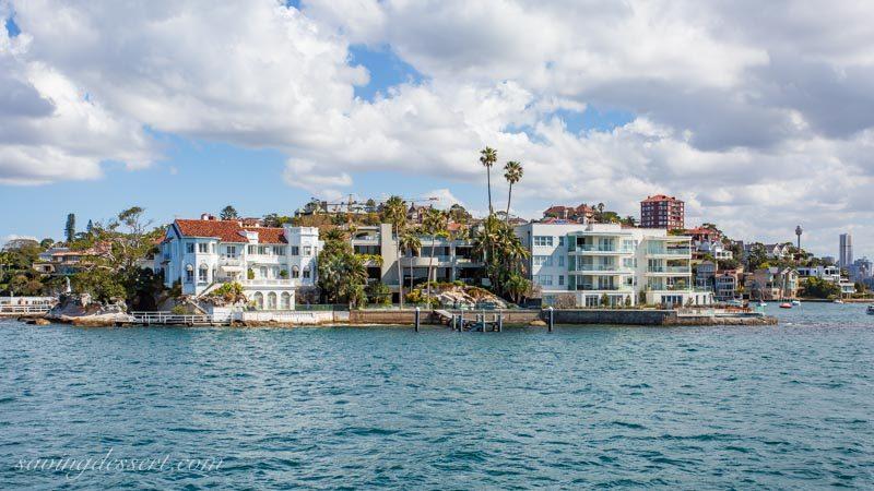 Beautiful seaside homes near Sydney Australia