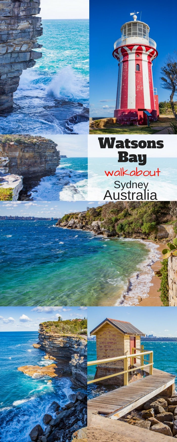 Watsons Bay, New South Wales is a suburb of Sydney Australia located at the end of the South Head peninsula. With gorgeous views of the harbor all the way to the Sydney Harbor Bridge, and cliff-top views of the Pacific, you'll love the easy walk and picturesque scenery. #savingroomfordessert #travel #hikearoundsydney #sydney #australia #watsonsbay #walkabout