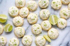 Coconut Key Lime Meltaways