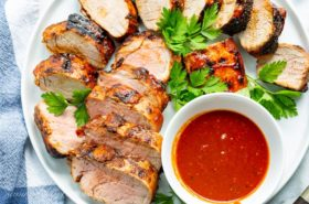 Grilled BBQ Pork Tenderloin Recipe